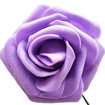 Amazonde Eyourlife 50x Kunstrose Kunstblumen Rosenblüten