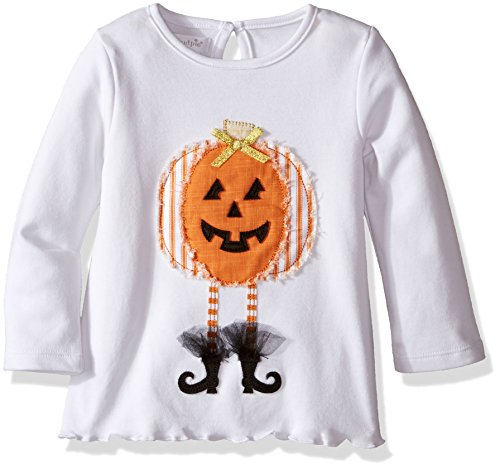 Mud Pie Baby Girls' Toddler Holiday Tunic Playwear, Pumpkin, 4T/5T ()