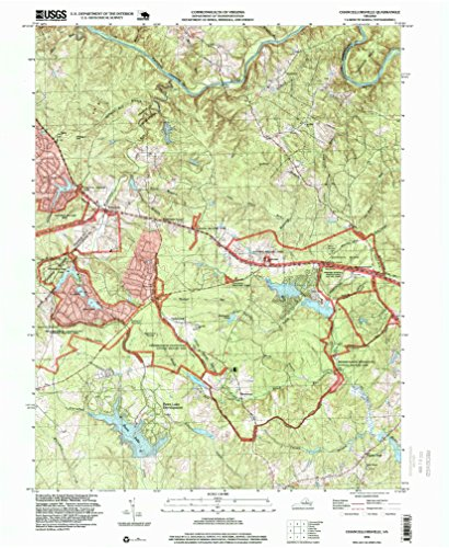 Chancellorsville VA topo map, 1:24000 scale, 7.5 X 7.5 Minute, Historical, 1994, updated 1999, 26.8 x 22 IN - - Fredericksburg Va Spotsylvania