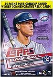#7: Topps Baseball 2017 Update Series Blaster Box (10 Packs Plus One MVP Award Relic Card)