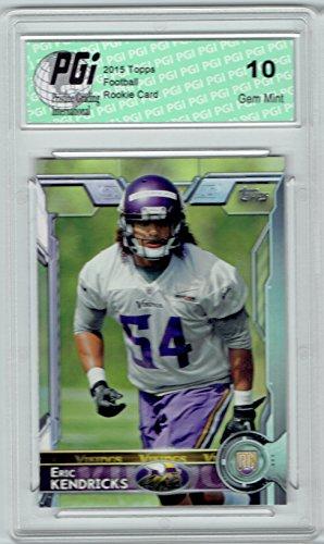 39875fad922 Amazon.com  Eric Kendricks 2015 Topps Football  434 Minnesota Vikings  Rookie Card PGI 10  Collectibles   Fine Art