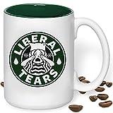 XL Liberal Tears Mug Covfefe Funny Parody Giant Snowflakes Edition Donald Trump Fan MAGA