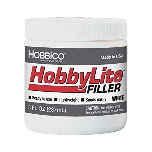 Hobbico 1000W Hobbylite White Filler, 8-Ounce