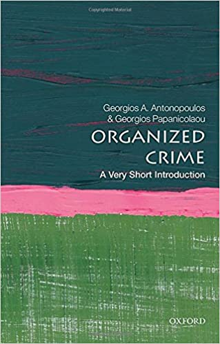 amazon organized crime a very short introduction very short