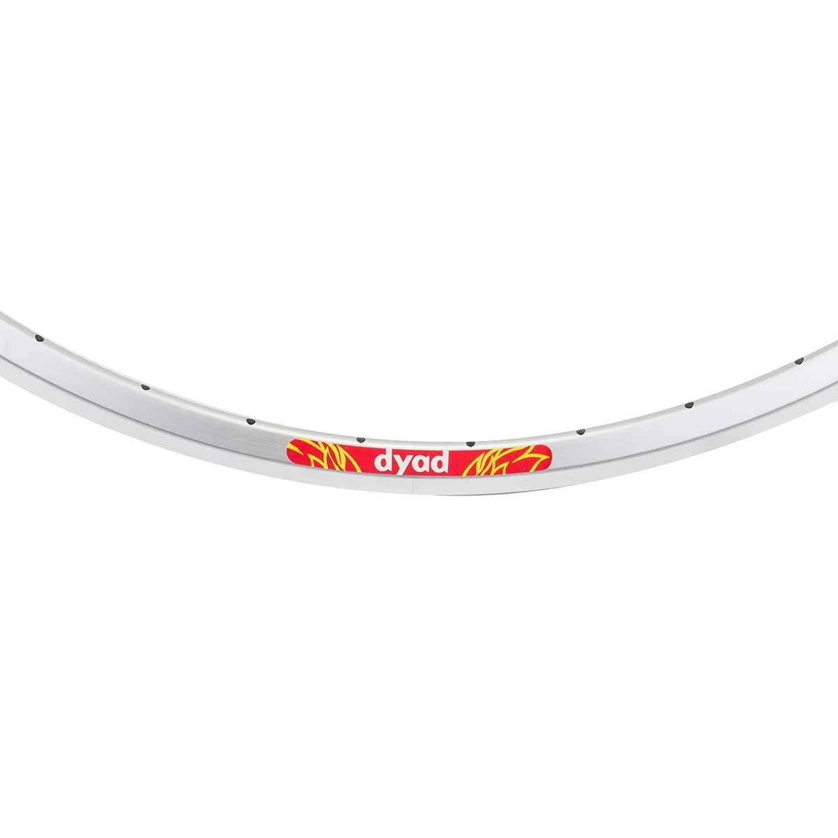 Velocity Dyad Rim - 700 x 20/23 - 36H Silver