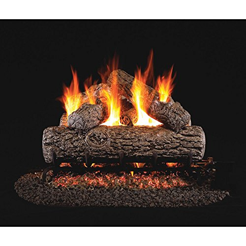 Non Vented Gas Fireplace (Real Fyre Golden Oak Vented Gas Log Set with)