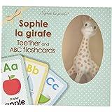 Sophie La Giraffe Teether and Flashcards Set