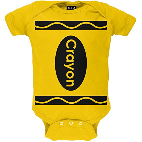 Yellow Crayon Costume Baby One Piece - 3-6 months