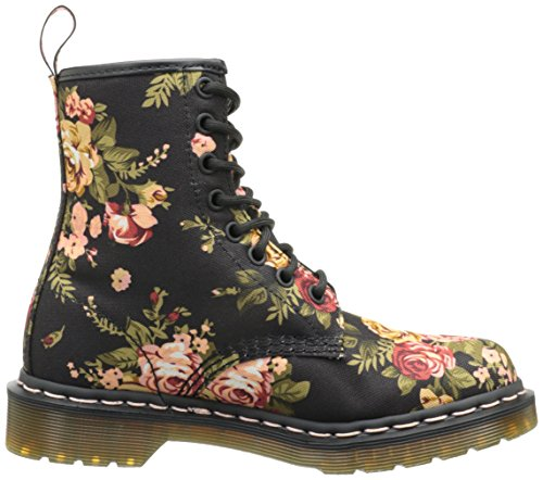 Black Women's Invented Re 1460 Up Lace Print Victorian Dr Martens Boot qvw1nFW5nI