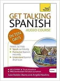 Get talking spanish in ten days beginner audio course: epub