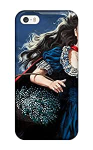 New Cute Funny Girl With The Red Cape Case Cover/ Iphone 5/5s Case Cover 9521480K51508819
