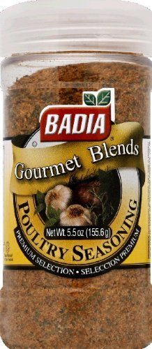 Badia Seasoning, Poultry 5.5 OZ (Pack of 2)