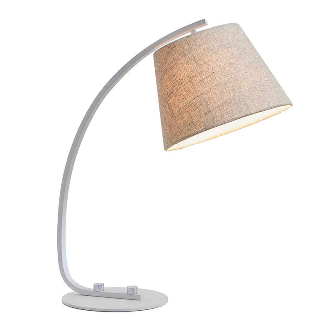 Study Table Lamp Simple Modern Bedroom Bedside Lamp Living Room Sofa Metal Table Lamp Desktop Light