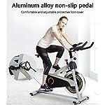 Allenamento-Spin-Bike-Professionale-Cyclette-Aerobico-Home-Trainer-Volano-in-Acciaio-Inossidabile-Regolazione-Della-Resistenza-Infinita-Trasmissione-a-Cinghia-Silenziosa-Quadrante-Elettronic