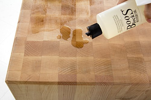 John Boos Cutting Board Oil and Cream Set: Includes One 16 Ounce Bottle Mystery Oil and One 5 Ounce Tube Board Cream by John Boos (Image #3)