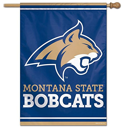 27x37 Vertical Banner - NCAA Montana State Bobcats 27-by-37 inch Vertical Flag