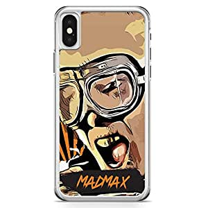Loud Universe Madmax iPhone X Case Famous Movie Poster iPhone X Cover with Transparent Edges