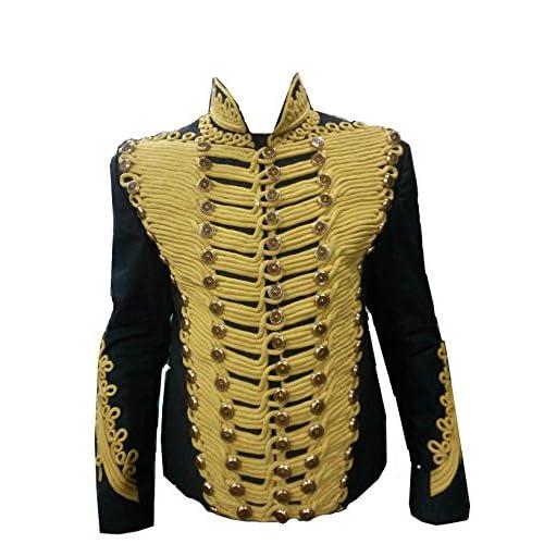coolhides Mens Stylish Slimfit Fashion Leather Jacket Black