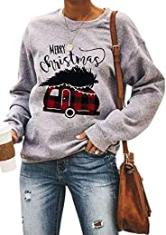 LIWEIKE Women This is My Christmas Movie Watching Long Sleeve Hallmark Sweatshirt Holiday Pullover