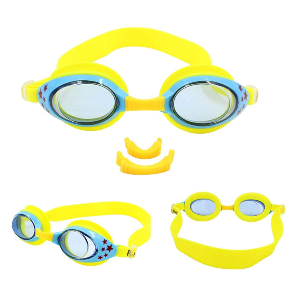 Coohole Swimming Goggles Anti-Fog UV Protection Pool Sport Easy to Adjustable Waterproof Comfortable Swim Glasses for Children and Kids