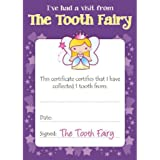 photo about Tooth Fairy Certificate Printable Girl referred to as Enamel Fairy Certificates: .british isles: Workplace Merchandise