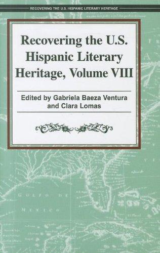 Download Recovering the U.S. Hispanic Literary Heritage pdf epub