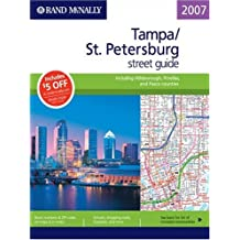 Amazon rand mcnally tampa florida books rand mcnally 2007 tampast petersburg street guide including hillsborough pinellas and pasco counties sciox Choice Image