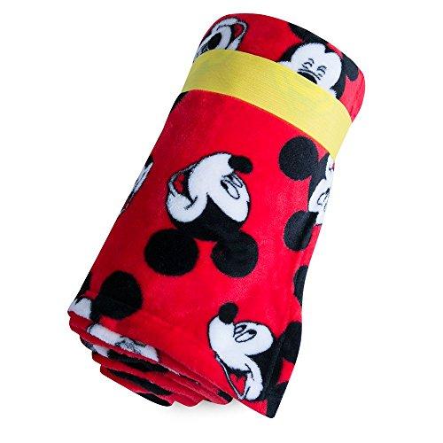 Disney Mickey Mouse Fleece Throw (Fleece Fabric Throw Blanket)