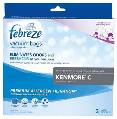 Febreze Kenmore C Replacement Vacuum Bag, 3-Pack