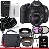 Canon EOS Rebel T3i 18 MP CMOS Digital SLR Camera w/ 18-55mm IS II Lens Package 6, Best Gadgets