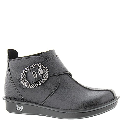 Alegria Womens Caiti Boot Black Swirl Size 36 EU (6-6.5 M US Women)