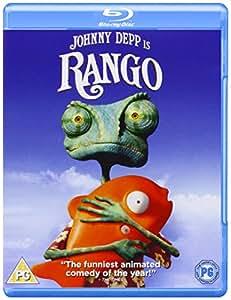 RANGO 1 DISC BD [Reino Unido] [Blu-ray]