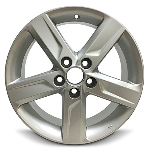 Tire Aluminum Rims - Road Ready Car Wheel For 2012-2014 Toyota Camry 17 Inch 5 Lug Gray Aluminum Rim Fits R17 Tire - Exact OEM Replacement - Full-Size Spare