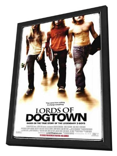 - Lords of Dogtown - 11 x 17 Framed Movie Poster
