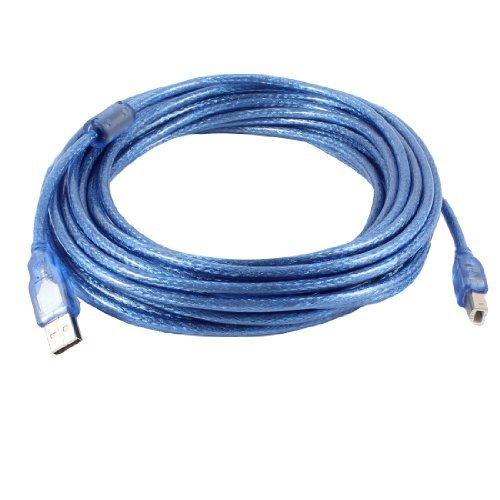 Amazon.com: eDealMax Azul 10M 33 pies USB 2.0 tipo A Macho a ...