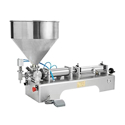 IDABAY Máquina Automática Neumática de llenado para envasar Liquido Mermelada Salsa Máquina Envasadora rango 100-
