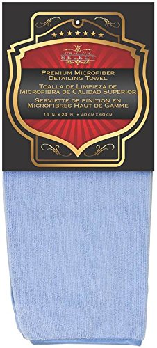 SM Arnold m Arnold Heavy Plush Cleaning Towel with Piped Edging, Large, - Edging Piped