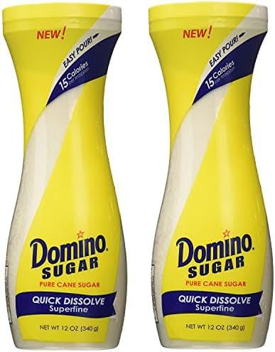 Sugar & Sweetener: Domino Pure Cane Sugar Quick Dissolve