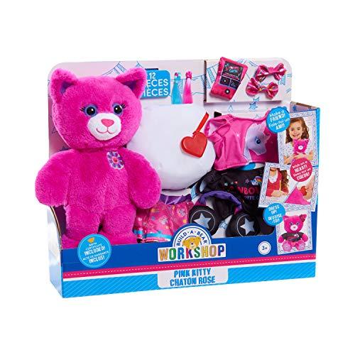 Build A Bear Pink Kitty