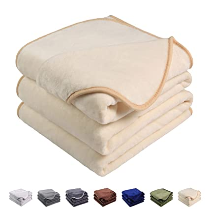 Image Unavailable. Image not available for. Color  Emonia Luxury Fleece  Blanket ... e3b3a98dc