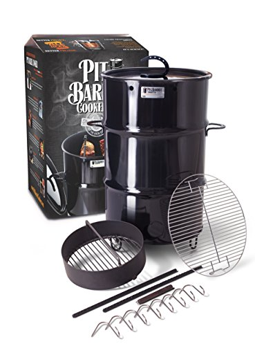 barrel bbq smoker - 1
