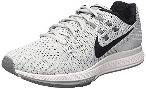 Nike Air Zoom Structure 19 Flash Laufschuh Reines Platin / Weiß / Cool Grey / Schwarz