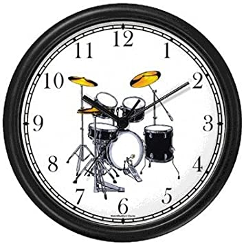 Amazoncom Drum Set Drums Musical Instrument Music Theme Wall