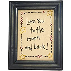Love You to the Moon and Back! - Framed Artwork