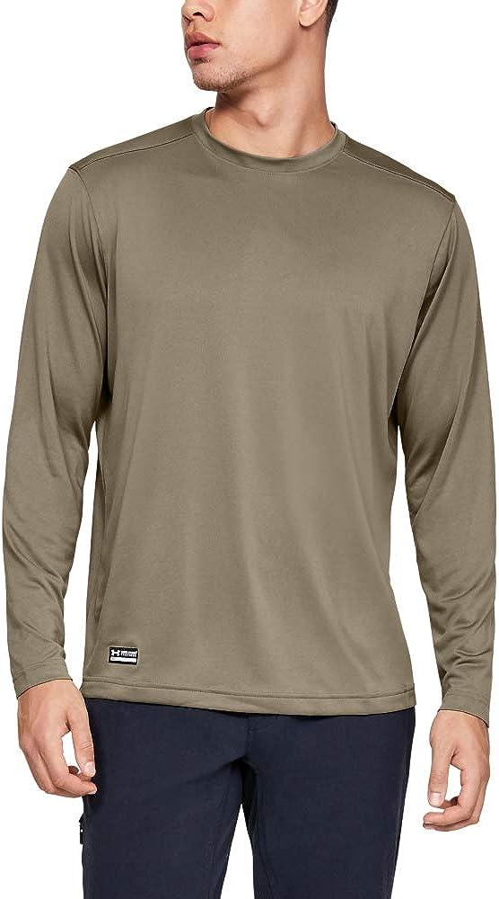 Under Armour Men's Tactical Tech Long-Sleeve Shirt: Clothing