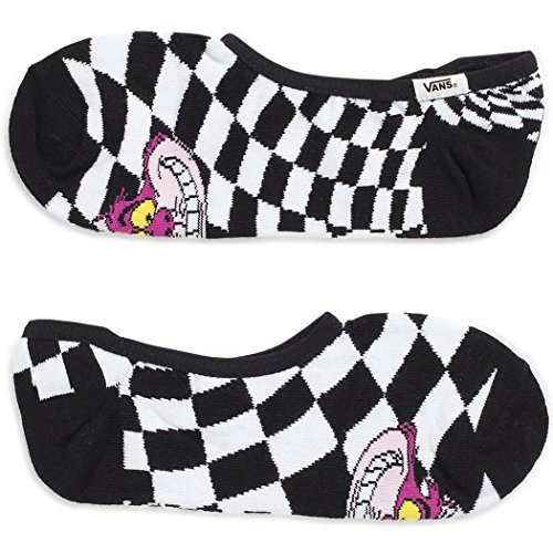 Vans Girl's Disney Canoodles Cheshire Girl's Sock Size 7-9 (Shoe 1-6) ()
