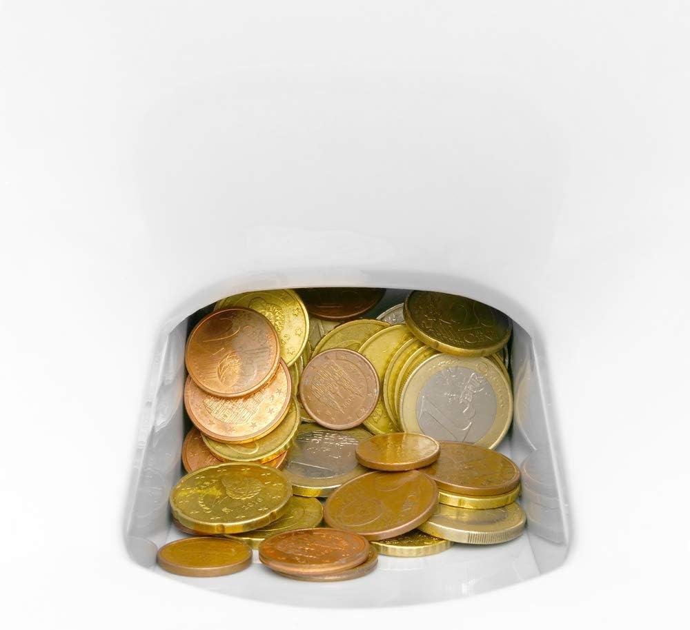 PrimeMatik - Contador de Monedas con clasificador automático para Euro DB360: Amazon.es: Electrónica