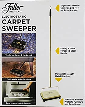 Fuller Brush Carpet Sweeper - Gold 4