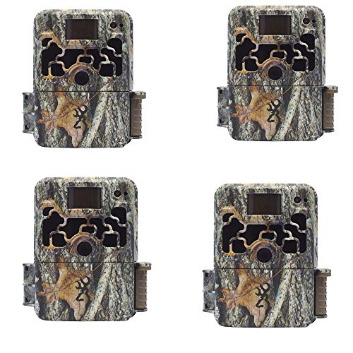 Browning 2018 Dark Ops Extreme Covert Deer Hunting Game Trail Camera (4 Pack)