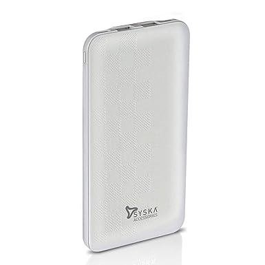 SYSKA Power GAIN 100 Power Bank 10000 MAH  P1017  wh  Dual USB Input, Type C Input  hellip;